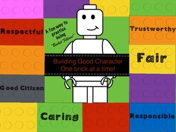 Building Good Character: (Lego LIke) Brick Theme