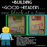 "LEGO Blocks ""Building Good Readers"" Anchor Chart Kinder-5th Grade"