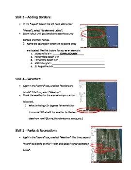 Building Google Earth Skills