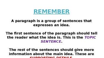Building Great Paragraphs