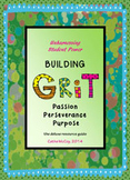 Grit and Growth Mindset Activities Character Ed for 2nd - 5th Grades