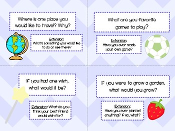 Building Class Community Discussion Task Cards: Great for Valentine's Day!