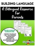 Building Language:(Spanish & English) Handouts for Parents