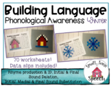 Phonological Awareness: Winter Activity - Speech & Language Activity