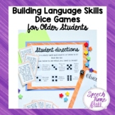 Building Language Skills Dice Game For Older Students
