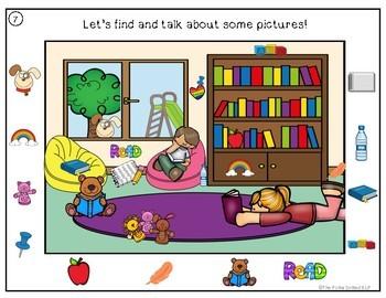 Building Language Skills through Picture Scenes