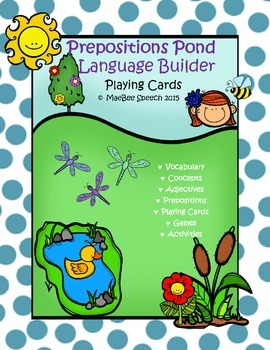 Building Language and Syntax: Spring Prepositions Pond Spe