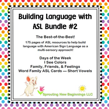 Building Language with American Sign Language (ASL) #2