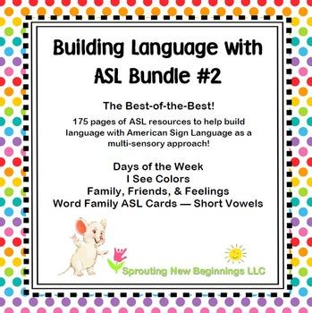 Building Language with American Sign Language (ASL) #2