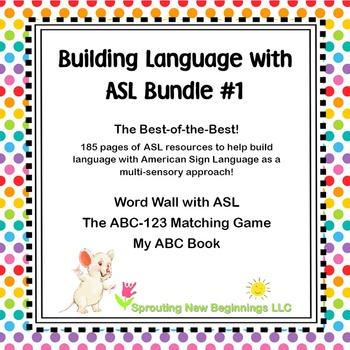 Building Language with American Sign Language (ASL) #1