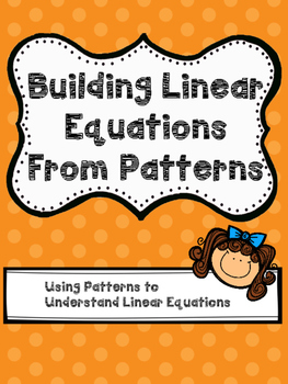 Building Linear Equations From Patterns