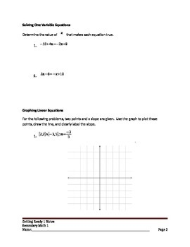 Building Linear Function from a Pattern, Explicit and Recursive Linear Equations