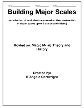 Building Major Scales