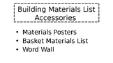 Building Materials List Accessories