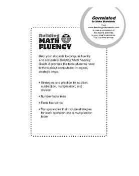 Building Math Fluency, Grade 3