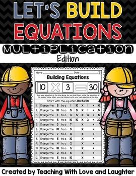 Building Multiplication Equations