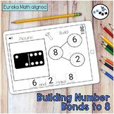 Building Number Bond to 8 DIGITAL Eureka Math Mod 4 Topic