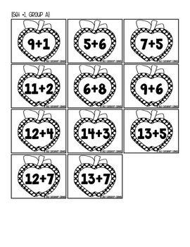 Building Number Fluency Within 10 and 20 {Aligns with Common Core!}