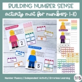 Building Number Sense | Activity Mats for Numbers 1-10