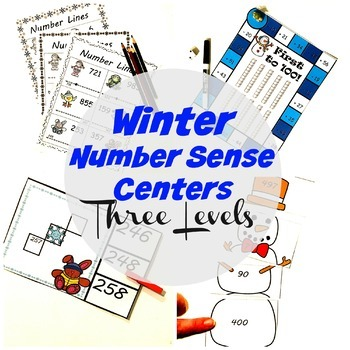 Building Number Sense Math Centers and Lessons