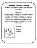 Building Number Sense - Plus One Games and Dot Cards