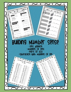 Building Number Sense - Tens Addition, Adding and Subtracting Multiples of Ten