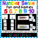Building Number Sense in Kindergarten: Fun and Games with Numbers 5-10