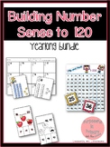 Building Number Sense to 120 YEARLONG Activities Bundle
