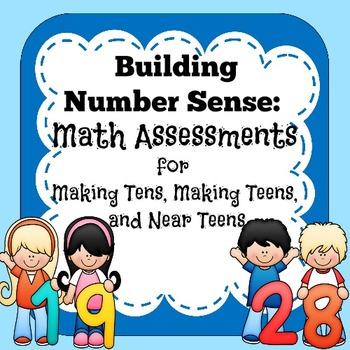 Math Assessments - Making Tens