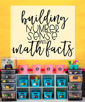 Building Number Sense with Math Facts BUNDLE (Addition & Subtraction through 20)