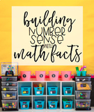Building Number Sense with Math Facts BUNDLE (Addition & S