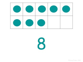 Ten-Frame Identification-Build Number Sense with Numbers to 10