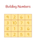 Building Numbers Center Activity