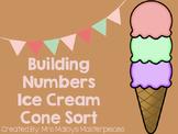Building Numbers Ice Cream Cone Sort