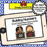Building Numbers With Base Ten Blocks Activities For GOOGLE CLASSROOM