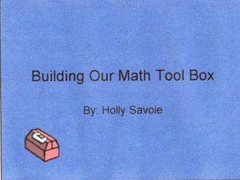Building Our Math Tool Kit- Math Fact Strategies