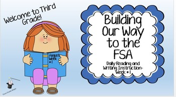 Building Our Way to the FSA!