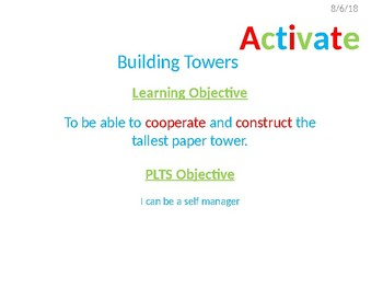 Building Paper Towers