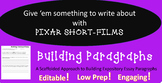 Building Paragraphs with Pixar Short-Films