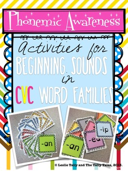Building Phonemic Awareness with Beginning Sounds in CVC W