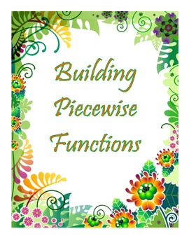 Building Piecewise Functions