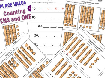 Building Place Value Concepts #4  Counting Tens and Ones