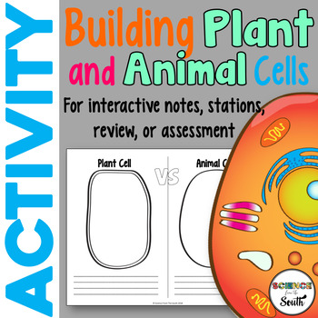 Building Plant and Animal Cells Activity for Middle and High School Students