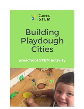 Building Playdough Cities! Preschool STEM Activity