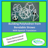 Building Polyhedron from Bendable Straws