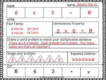 Multiplication Activities FULL YEAR | PDF & Digital for Distance Resources