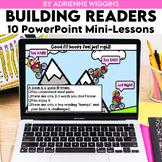 Building Readers - Back to School Mini Lesson Bundle - PowerPoint