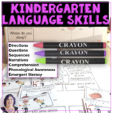 Language and Literacy Skills for CCSS for Kindergarten Readiness