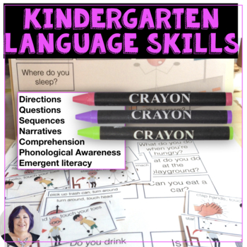 Building Readiness Language Literacy Skills for CCSS for K