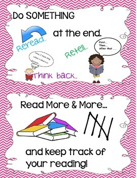 Building Reading Habits Anchor Chart Cards